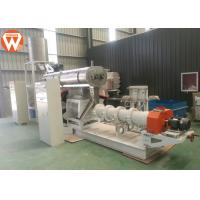 Buy cheap Wet Type Floating / Sinking Fish Feed Production Machine Fish Feed Extrusion from wholesalers