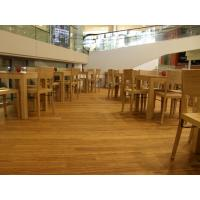 Birch Stained Color Handcraped flooring Manufactures