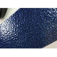 Blue Hammer Texture Thermosetting Outdoor Powder Coating Metallic Effect Manufactures
