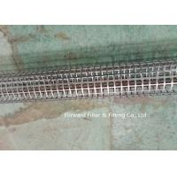 Stainless Steel Round Hole Tube / Square Hole Punching Porous Filter Tube Filter Skeleton Support Tube Manufactures