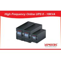 China 6 - 10KVA 220V - 240V Uninterrupted Power Supply Online Pure Sine Wave High Frequency UPS on sale