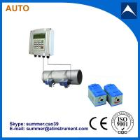 Wall Mounted Clamp On Type Ultrasonic Flowmeter/Fixed Ultrasonic Flow Meter with reasonabl Manufactures