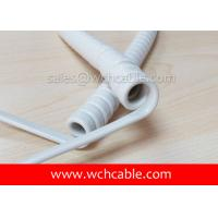 UL Curly Cable, AWM Style UL21459 26AWG 4C VW-1 80°C 600V, PVC / PUR Manufactures