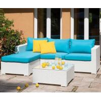 China Outdoor Garden sofa sets patio All weather Poly Rattan wicker Furniture on sale