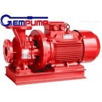 ISW Horizontal Pipe Inline Water Booster Pump Red Color 10~125 m Head Manufactures
