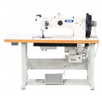 Double Needle Compound Feed Walking Foot Heavy Duty Leather Sewing Machine Manufactures