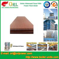 Solid Fuel Boiler Water Wall Tubes , High Temperature Water Wall In Boiler Manufactures