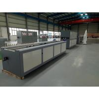 300mm PVC Profile Extrusion Line With Conical Double Screw Extruder Manufactures