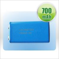 High Capacity Lithium Ion Cylindrical Battery 350mAh 9V Rechargeable Manufactures
