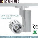 20Watt AC 110 - 260V LED Track Lighting With 24°Beam Angle White / Black Manufactures