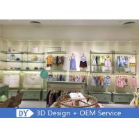 Wooden Stainless Steel Children'S Store Fixtures With Led Lights Manufactures