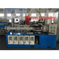 Common Cold Feed Rubber Sheet Extruder , Rubber Granulator MachineAlloy Steel Screw Manufactures