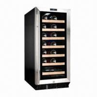 26-bottle Capacity Single Zone Wine Cooler/Fridge, R134a Refrigerant, 88L/3.11cuft, CE/ET  Manufactures