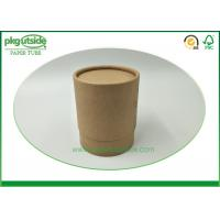 China Damp - Proof  Cardboard Tube Boxes Food Grade Environmentally Friendly on sale