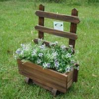 Wooden Flower Pot, Measuring 30 x 16 x 43cm, Customized Designs, Sizes and Shapes Available Manufactures