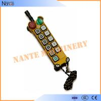 Pendant Industrial Remote Controls Wireless , F24-10 S/D Transmitter Manufactures