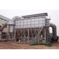 150 Degree Pulse Dust Filter With Cloth Bag , Industrial Baghouse Dust Collectors Manufactures