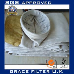 Non Woven Liquid Boiler Cement Plant Fiberglass Cloth Filter Bags 850gsm Manufactures