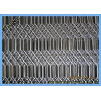 Hot Dipped Galvanised Expanded Metal Mesh , Expanded Stainless Steel Grill For Fencing / Fiji Manufactures