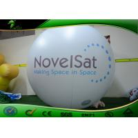 China Diameter 2m Logo Printing Inflatable Helium Balloon / Flying Balloon For Rental on sale