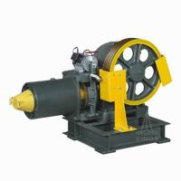 VVVF Drive Geared Elevator Traction Machine , 1.6m/s 3700kg Static Capacity YJ160 Manufactures