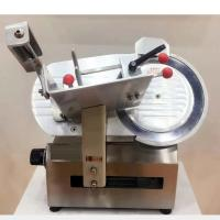 12 Inch Automatic Meat Slicer Machines / Countertop Frozen Meat Slicing Machine Manufactures