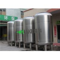 5T/H Stainless Steel Hot Water Storage Tank Sterile Environment For Food Grade Liquid & Boiler Manufactures