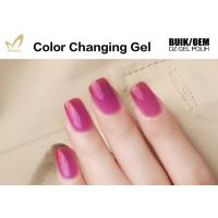 Gradient Temperature Changing Gel Nail Polish , Organic Gel Mood Nail Polish Manufactures