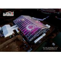Clear 50m Span Distance Large Event Tent For Annual Conference , Ceremony , Wedding Manufactures