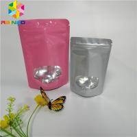 3.5g Seed Powder Foil Pouch Packaging Plastic Heat Seal Bags With Clear Window Manufactures