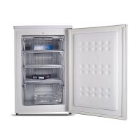 Quality Electricity Power Upright Mini Compact Refrigerator 110L Manual Defrosting for sale