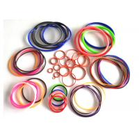 AS568 fuel hydraulic heat resistant sealing rubber silicone colored o rings Manufactures