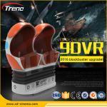 22PCS VR +70 PCS  Electric Full Motion Amusement Ride 9D Virtual Reality Simulator Triple Cinema Chair Manufactures