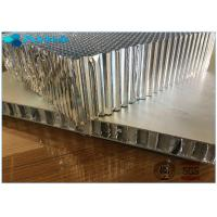 Light Weight Aluminium Honeycomb Material For Railway Trains , 0.05mm Alum Foil Thickness Manufactures