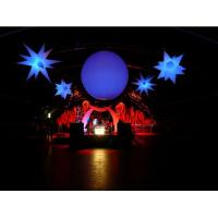Hanging Inflatable Led Light Ball for Advertisement and Party Supplies