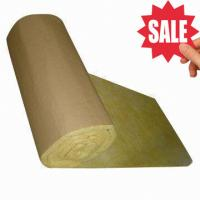 Glass Wool Insulation Blanket with Kraft Paper Facing Manufactures