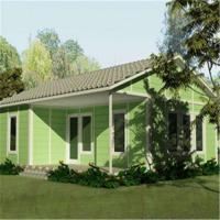 Ready Designed Steel Frame Prefabricated Houses Customized Living Home Manufactures