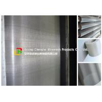 304 / 316 Stainless Steel Wire Mesh Sheets 10 - 300mm Height For Chemical Industry Manufactures