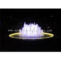 220V / 380V Dia 5 Meter Indoor Water Fountain With Various Color Led Lighting Manufactures