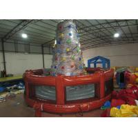 Round inflatable rock climbing wall digital painting Inflatable Mountain Climbing with 0.55mm PVC Tarpaulin Manufactures
