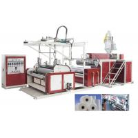 HDPE / LDPE Stretch Film Machine For 3 Layers , Film Width 500 - 1500mm Manufactures