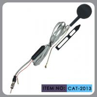 Electronic Car Windscreen Antenna Round Black Shell Plastic Material Manufactures