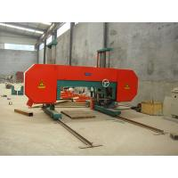 MJ2000 automatic heavy duty large horizontal band sawmill Manufactures