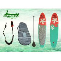 Matt finish Stand up Yoga girls surfboards , surf sup boards Manufactures
