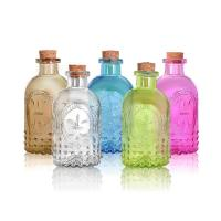 250ml Glass Diffuser Bottles Non Fire Aromatherapy Essential Oil Set In Rattan Volatile Manufactures