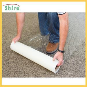 500g / 25mm Carpet PE Protection Film Transparent Anti Dust Protective Film Manufactures