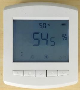 Built-in battery lora datalogger temperature humidity sensor temperature and humidity digital LCD display wall mounted