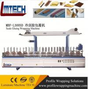 China pvc decorative wall panels laminating wrapping machine on sale