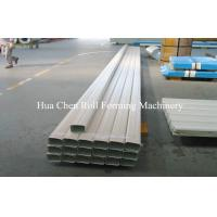 Gutter roll forming machine/Square Type Downpipe Forming Machine/downspout steel squar tube making machine Manufactures