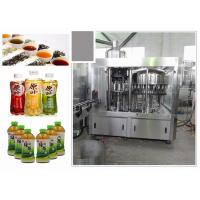6.68kw Standard 3-In-1 Monoblock Tea Filling Machine With Perfect CIP System Manufactures